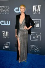 Charlize Theron In Celine @  2020 Critics' Choice Awards