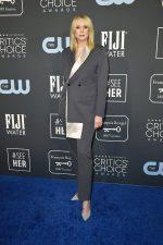 Gwendoline Christie  In DiorMen by Kim Jones @ 2020 Critics' Choice
