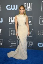 Jennifer Lopez  In Georges Hobeika Couture  @ 2020 Critics' Choice Awards