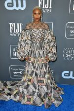 Cynthia Erivo  In Fendi Couture @ 2020 Critics' Choice Award