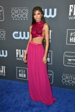 Zendaya  Coleman In Tom Ford  @ 2020  Critics Choice  Awards