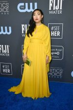Awkwafina In  Elie Saab @ 2020 Critics' Choice Awards