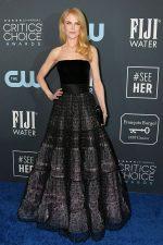 Nicole Kidman In Armani Prive  @  2020 Critics' Choice Awards