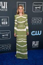 AJ Michalka In Elisabetta Franchi @  2020 Critics' Choice Awards