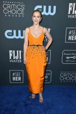 Rachel Brosnahan  In Carolina Herrera    @ 2020 Critics Choice Awards