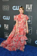 Saoirse Ronan  In Erdem @  2020 Critics' Choice Awards