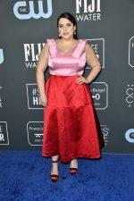 Beanie Feldstein In Lela Rose  @ 2020 Critics' Choice Awards