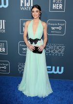 Lucy Hale  In Miu Miu @  2020 Critics' Choice Awards