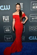 Marin Hinkle  In Romona Keveza  @ 2020 Critics' Choice Awards