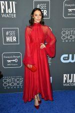 Chloe Bridges  In  Azeeza @ 2020 Critics' Choice Awards