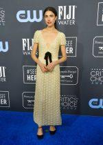 Margaret Qualley  In Miu Miu @ 2020 Critics' Choice Awards