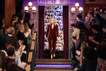 Rachel Brosnahan In  Brunello Cucinelli  @ The Late Late Show With James Corden