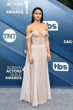 Camila Mendes In Ralph &  Russo Fall 2016 Couture @ 2020 SAG Awards