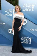 Allison Janney In Pamella Roland  @  2020 SAG Awards