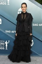 Winona Ryder In Christian Dior Haute Couture  @ 2020 SAG Awards