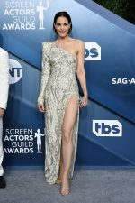 Leslie Bibb In August Getty Atelier  @ 2020 SAG Awards