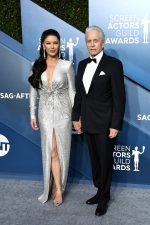 Catherine Zeta-Jones In Julien X Gabriela  @  2020 SAG Awards