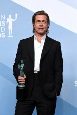 Brad Pitt  In Brioni  @  2020 Screen Actors Guild Awards