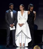 Jharrel Jerome  In DiorMen by Kim Jones  @  2020 Screen Actors Guild Awards