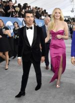 Joe Jonas In Boss Tuxedo @ 2020 Screen Actors Guild Award