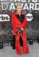 Patricia Arquette  In Rosetta Getty  @ 2020 Screen Actors Guild Awards