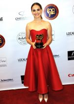 Natalie Portman  In Christian  Dior @  2020 Society of Camera Operators Lifetime Achievement Awards