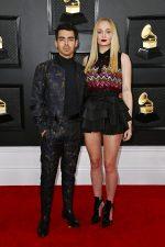 Sophie Turner In Louis Vuitton  @  2020 Grammy Awards