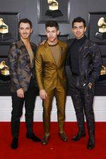 Kevin Jonas, Nick Jonas &  Joe Jonas  In Ermenegildo Zegna XXX  @ 2020 Grammy Awards