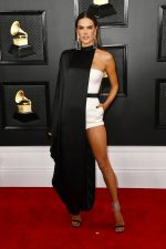 Alessandra Ambrosio  In Balmain @ 2020 Grammy  Awards