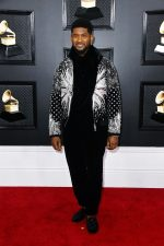 Usher In Balmain @ 2020 Grammy Awards