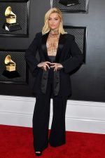 Bebe Rexha In Custom Christian Cowan @  2020 Grammy Awards