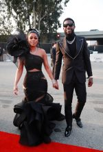 Gucci Mane &  Keyshia Ka'Oir   In Gucci @ 2020 Grammy Awards