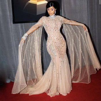 cardi-b-in-mugler-2020-grammy-awards