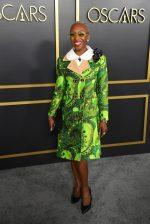 Cynthia Erivo  In Louis Vuitton @ 2020 Oscars Nominees Luncheon