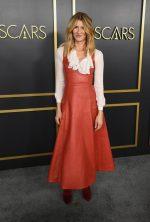 Laura Dern  In Oscar De La Renta  @ 2020 Oscars Nominees Luncheon