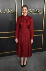 Greta Gerwig In Gucci @  2020 Oscars Nominees Luncheon.