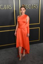 Florence Pugh In Monse @ 2020 Oscars Nominees Luncheon