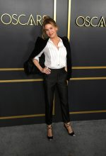 Renée Zellweger In Tom Ford @  2020 Oscars Nominees Luncheon