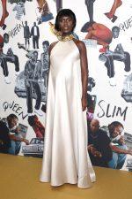 Jodie Turner-Smith  In  Reem Acra  @  'Queen & Slim' London Premiere