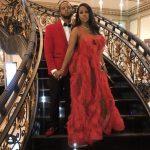 Remy Ma In Karen Sabag Couture Gown @  Erica Mena  &  Safaree's Wedding
