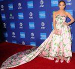 Jennifer Lopez In Richard Quinn @ 2020 Palm Springs International Film Festival Film Awards Gala.