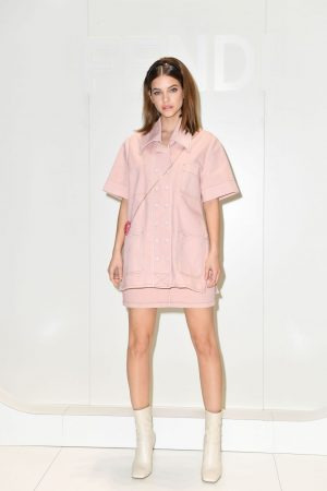 barbara-palvin-front-row-fendi-2020-fashion-show-in-milan