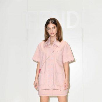 barbara-palvin-front-row-fendi-2020-fashion-show-in-milan