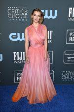 Betty Gilpin In Oscar de la Renta @ 2020 Critics Choice Awards
