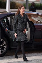 Catherine, Duchess of Cambridge In  Dolce & Gabbana @ The Evelina London Children's Hospital Visit