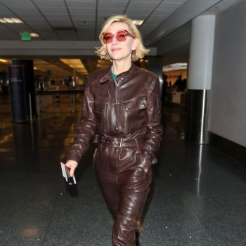 cate-blanchett-in-leather-boilersuit-lax-airport