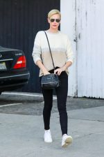 Charlize Theron in J Brand Jeans – Out in Los Angeles