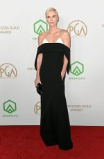 Charlize Theron  In  Givenchy  @ 2020 Producers Guild Awards