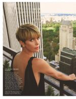 Charlize Theron Covers  Vogue UK February 2020