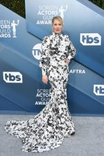 Christina Applegate  In Monique Lhuillier  @  2020 SAG Awards